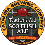 Catalina Brewing Company - Teacher's Aid Scottish Ale