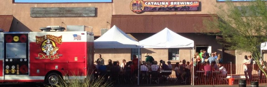 Catalina Brewing Company on Opening Day