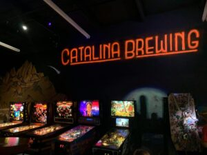 Catalina Brewing Company Game Room